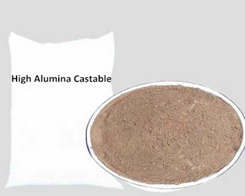 High Alumina Castable Possesses High Refractory Temperature