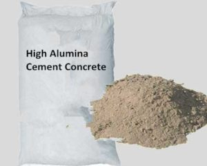 High Alumina Cement Concrete Is Refractory Concrete