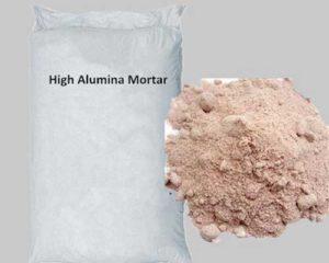 High Alumina Mortar Possesses Sound Performance