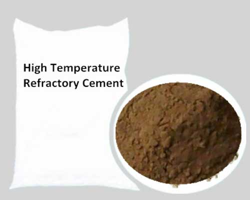 High Temperature Refractory Cement Rongsheng Refractory Producer