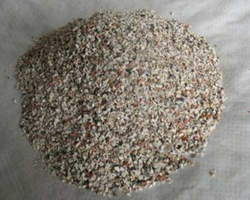 Refractory Aggregate Material Takes the Form of Particles