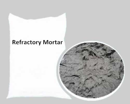Refractory Mortar Can Be Applied to Fill up Seam