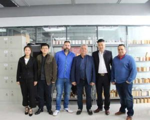Spanish Customers Visit Our Company for Purchasing Refractory