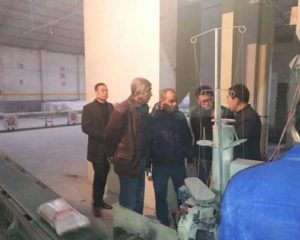 Turkish Customers Come to Our Workshop to Visit