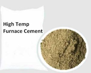 High Temp Furnace Cement Possesses Sound Performances