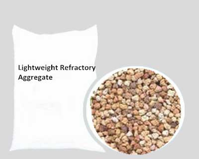 Lightweight Refractory Aggregate Has Low Bulk Density
