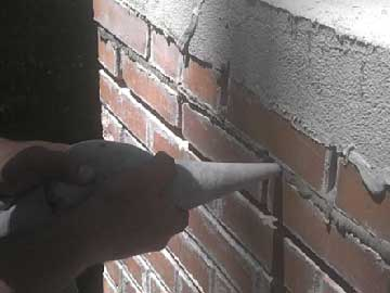 Mortar for Fireplace