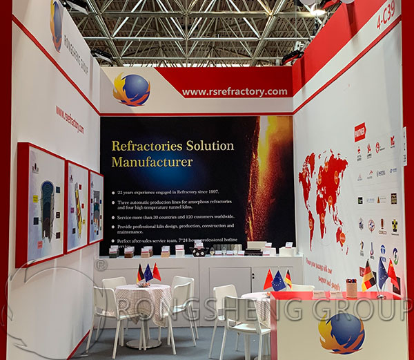RS Refractory Castable Cement GIFA 2019 Exhibition Booth