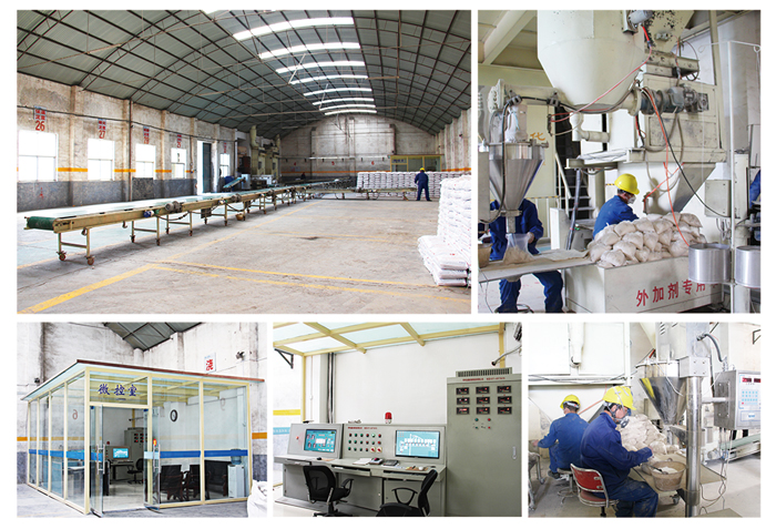 Rongsheng Professional Producing Line of Castables