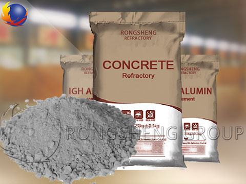Refractory Concrete Material Applied to Kilns and Furnaces