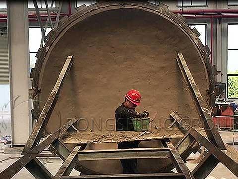 construction of high-alumina mullite castables