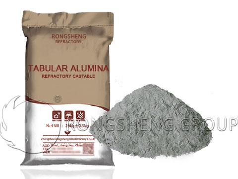RS Tabular Alumina Refractory Castable Manufacturer