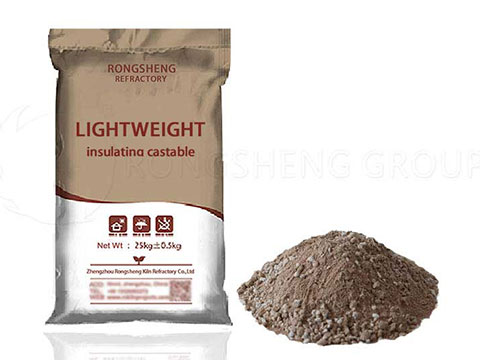 Insulating Castables Has Low Bulk Density