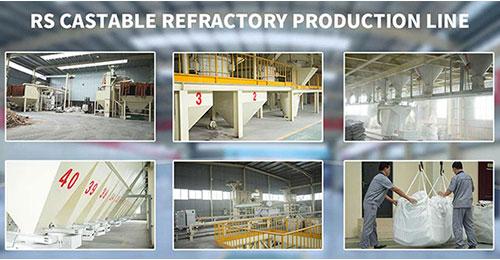 Rongsheng Refractory Castable Manufacturer