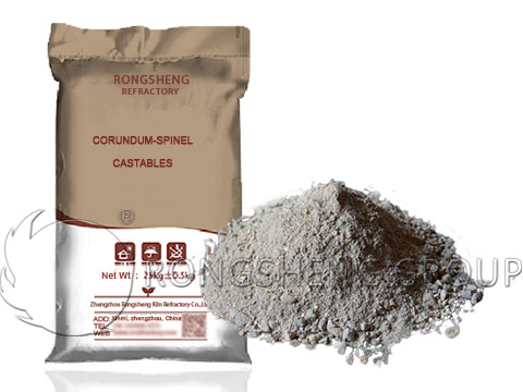 Corundum-Spinel Castable for Sale