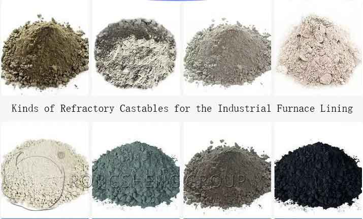 Kinds of Refractory Castables