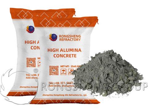 High Alumina Cement Concrete Is Refractory Concrete