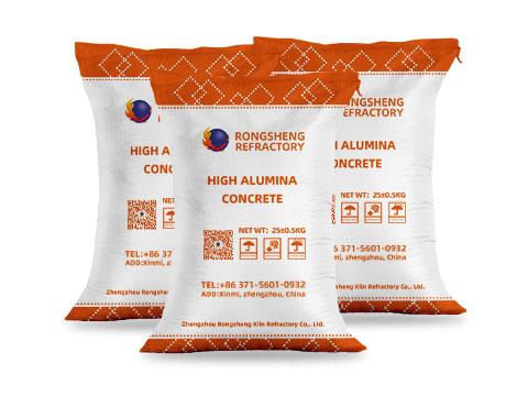 Rongsheng High-Alumina Concrete for Sale